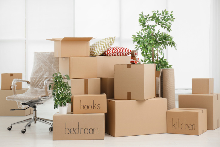 Home removal and storage features